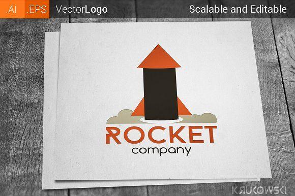 Rocket Logo by Krukowski Graphics on @creativemarket