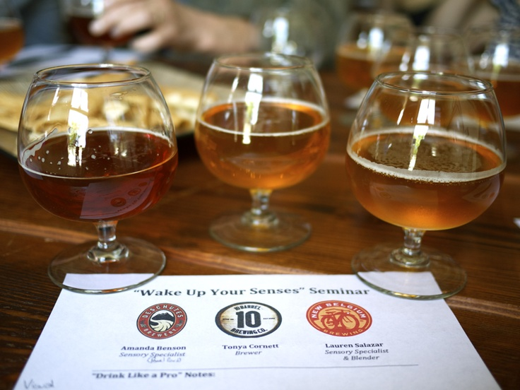 Sensory specialists, including our own Amanda Benson, discuss the many flavors of beer.: Including Deschutes, Mead Buzz, Discus, Brew Reviews, Craft Beer, Brew Stuff, Amanda Benson, Sensory Specialists