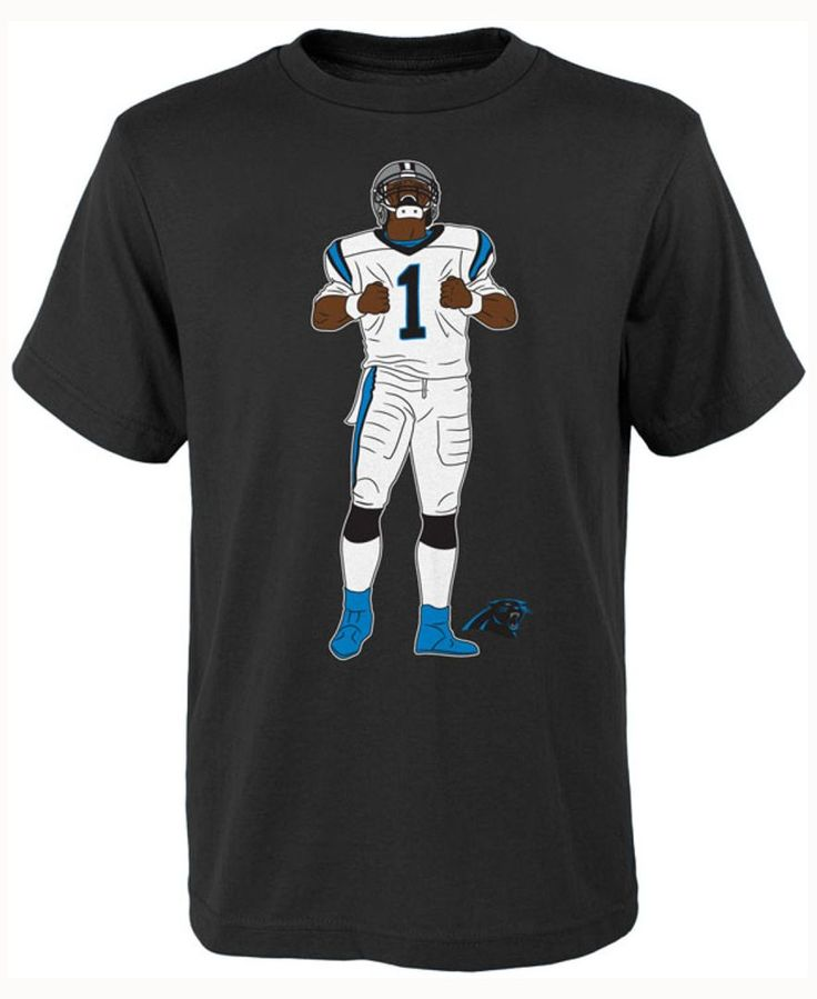 Outerstuff Kids' Cam Newton Carolina Panthers Celebration Pose T-Shirt