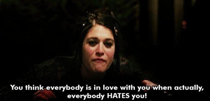 7. en #fait, tout le monde vous hait - 7 #insultes que vous devez #voler du film Lolita #malgré moi... → #Funny