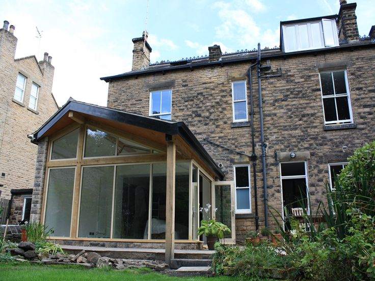 Time architects private house victoria road home for Terrace extension