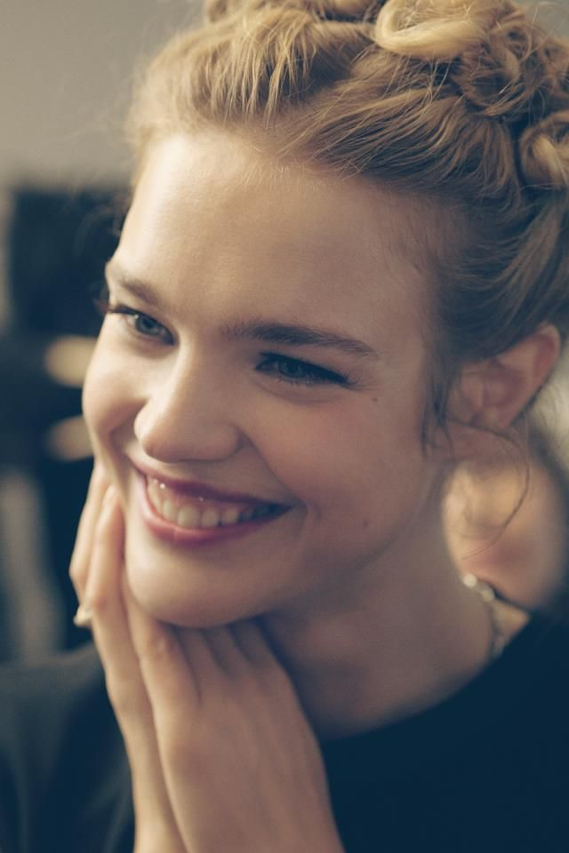 """Natalia Vodianova. Mom of 4 children, top model, the founder of """"Nacked Hearts Foundation"""", wich build play parks and playground for the children in Russia."""