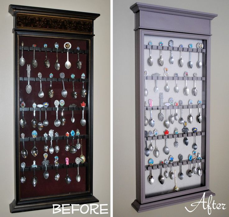 Traditional to Transitional Spoon Rack Revamp by @jenna_burger, www.sasinteriors.net