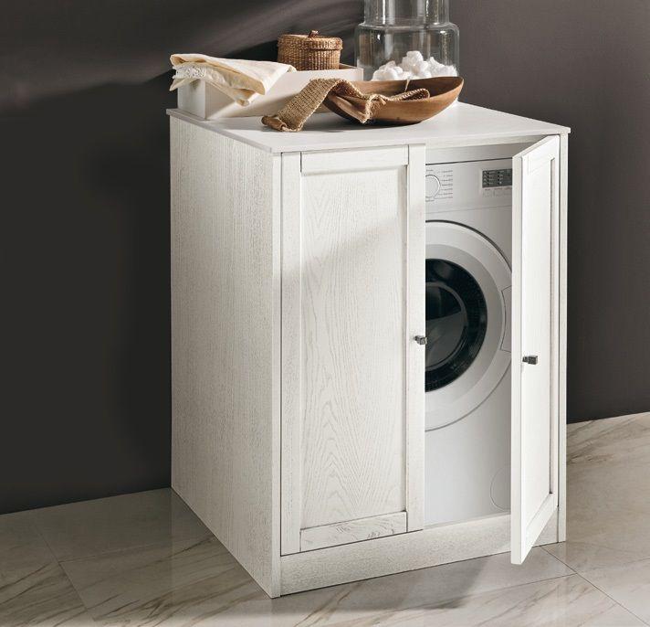 #Eban washing machine cover module | #Holz | im Angebot auf #bad39.de | #Badmöbel #Bad #Badezimmer #Einrichtung #Ideen #Italien