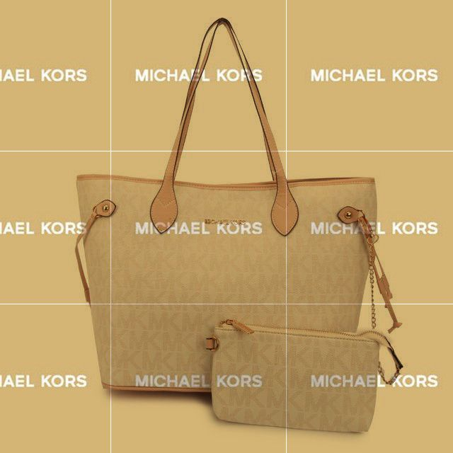 You Do Not The Fashion And Luxury Michael Kors Jet Set Signature Large  White Totes Trend
