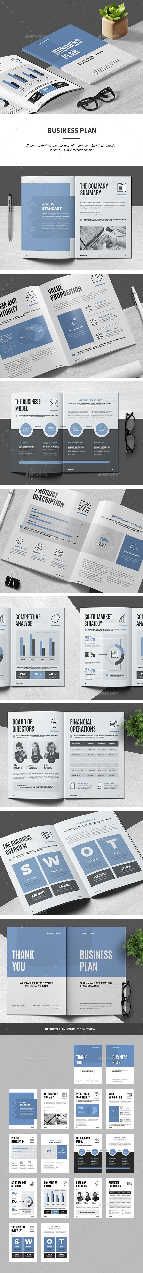 Business Plan — InDesign INDD #modern #company • Download ➝ https://graphicriver.net/item/business-plan/19465099?ref=pxcr