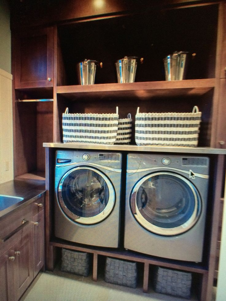 shelf above washer dryer laundry room pinterest dryer washer and shelves. Black Bedroom Furniture Sets. Home Design Ideas