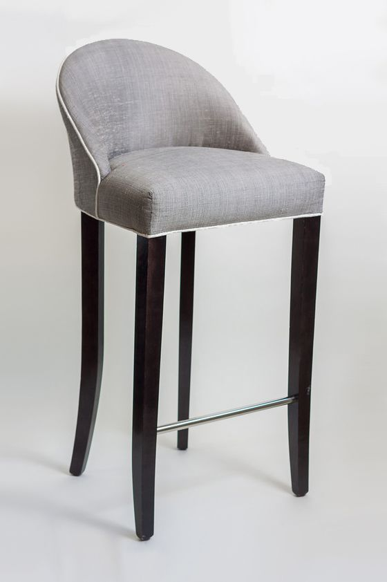 Gabrielle bar stool Dining Chair pany 15m Piping Upholstered