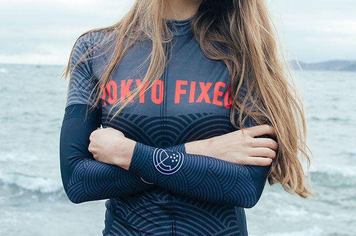 Tokyo Fixed Wave Jersey - Tokyo Fixed - Brands - Kinoko Cycles