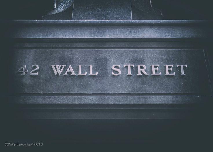 Wall Street photography,original art print New York photo NYC picture Financial district wall art New York City artwork print décor film by KaleidoscopesPHOTO2 on Etsy