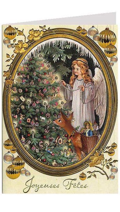 420 best Vintage Christmas Cards images on Pinterest | Vintage ...