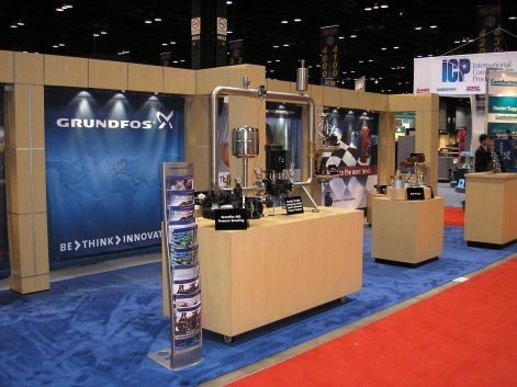 Tradeshow Booth - Product Display