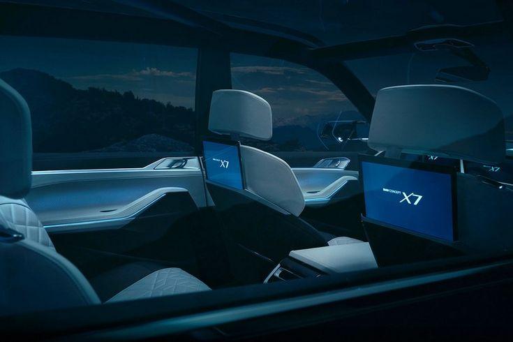 BMW X7 concept iperformance 2018 design intérieur assurant maximum confort modèle hybride haute gamme  #bmw #cars