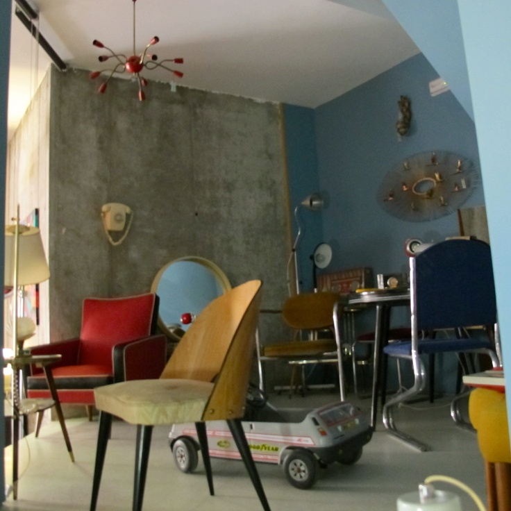 #vintage #deco #fifties #sixties #rockabilly #scandinavian #spaceage #decoracion #interiorismo #antiques #zamora en chachiandchachi #años 50´s 60´s