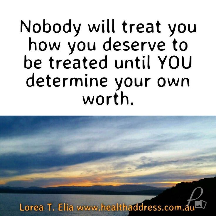 Do you find you are not treated the way you would lime to be treated?  If so like and comment below to receive relevant mindset activations sent to you for free via distance healing. Thank you for letting me assist you in creating a happier life for you.  For achieving greater success reducing stress and pain and creating ease harmony and love in your life please visit:  http://bit.ly/1OmIYIm  Lorea T. Elia  #freedom #happiness #lawofattraction #lifeskills #personalgrowth…