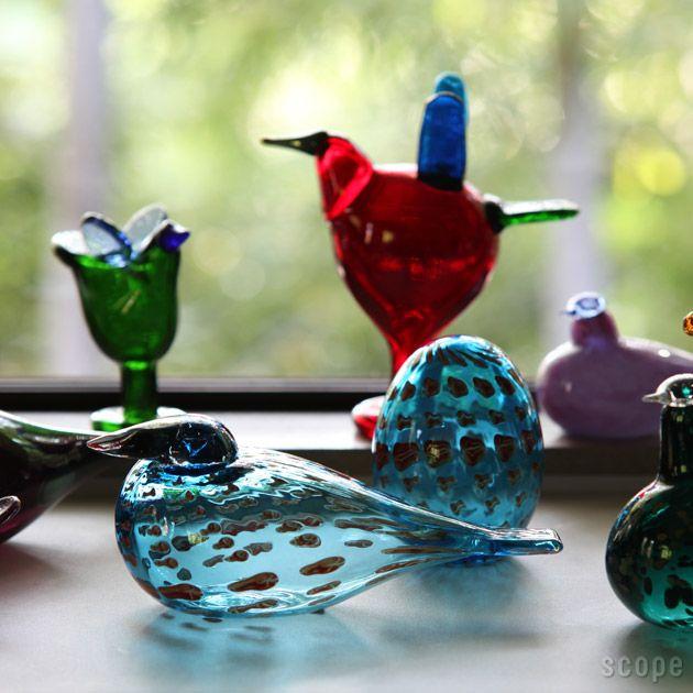 iittala / Birds by Oiva Toikka  Coral Eider (Annual Bird & Egg 2011)