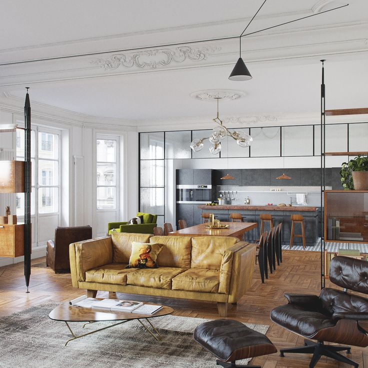 UNLTD - Кухня в современном стиле | PINWIN - конкурсы для архитекторов…