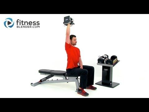 Strength Training for Arms and Shoulders - Strong Toned Arms Workout, Fitness Blender