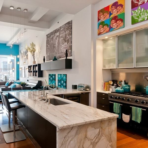 Modern Kitchen Design New York: 17 Best Images About My NY Apartment Wish On Pinterest