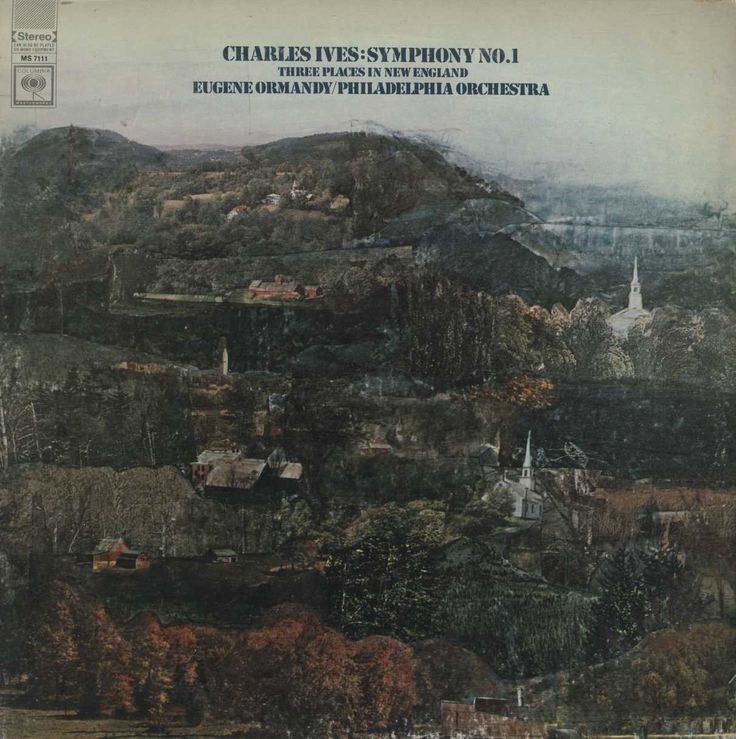 Charles Ives - Symphony No. 1 / Three Places In New England
