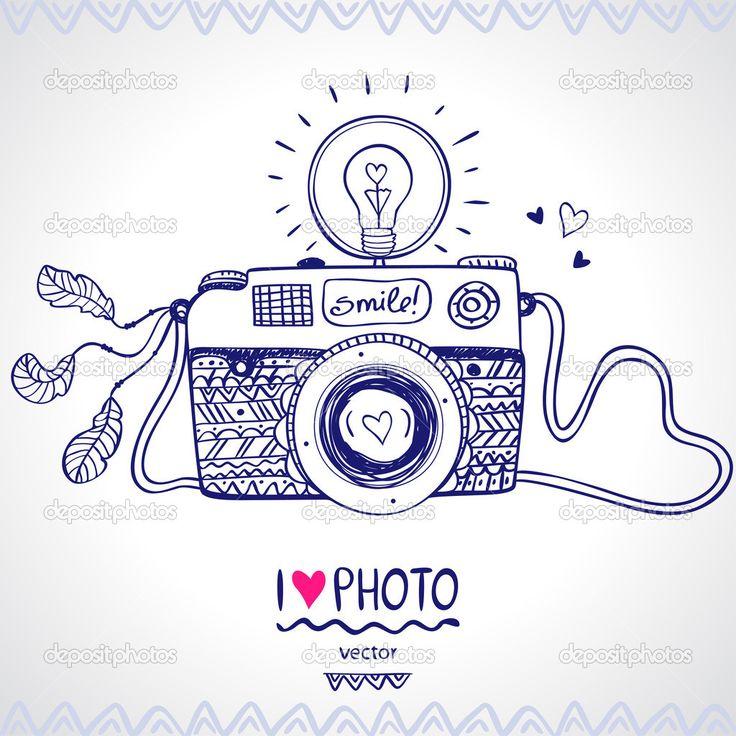esbozo de la cámara - Ilustración de stock: 36839999