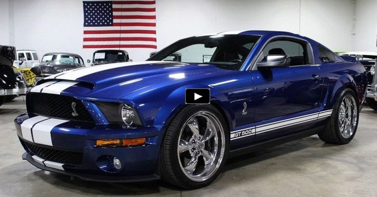 Gorgeous 2007 Mustang Shelby GT500 with Cool Mods