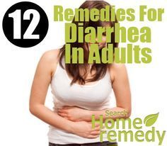 12 Home Remedies For Diarrhea In Adults