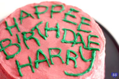 Harry's Birthday Cake from Hagrid - I've just tried it for my birthday : delicious !