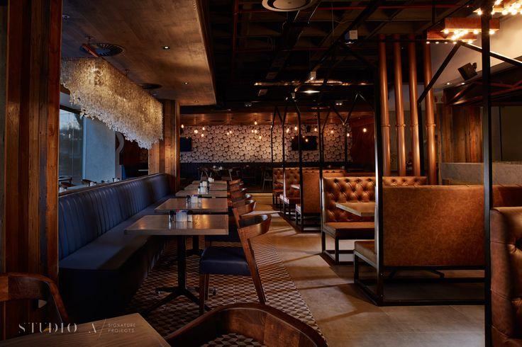 Studio A Signature Projects / Johannesburg, South Africa. NewsCafe / Bar & Restaurant Design