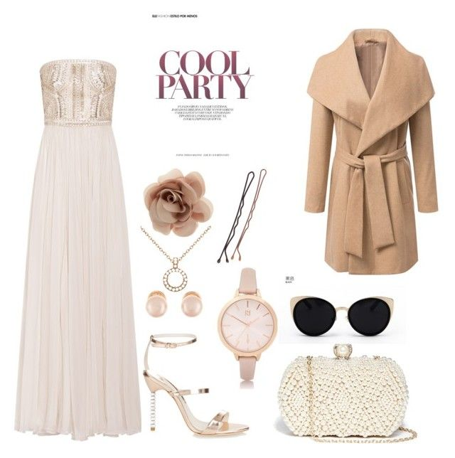 """""""My Prom"""" by dianegoescu on Polyvore featuring Alexander McQueen, Sophia Webster, GUESS, River Island, Kenneth Jay Lane, Allurez, Accessorize and Una-Home"""