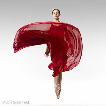 Dreaming of Broncolor strobes which stop the action at 1/4000 of a second, a Hasselblad camera and the Leaf Aptus 75 digital back. *Lois Greenfield*  (American Ballet Theatre)