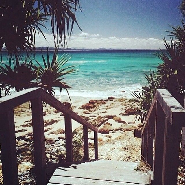 Wategos Beach, Byron Bay. Was here on the weekend... and am having major withdrawals! (photo by @tigerlilyswimwear)