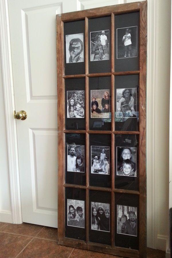 Window Pane Frame With Matting Fireplace Ideas