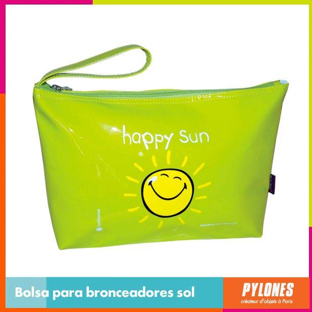Bolsa para bronceadores verde #SemanaSanta #Santo #Vacaciones  @pylonesco