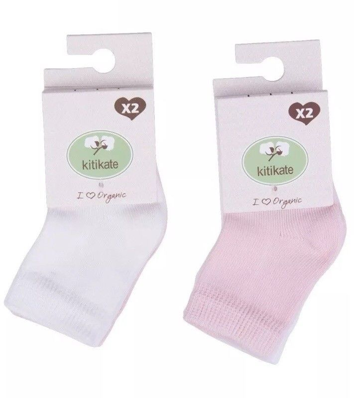 Details About 100 Organic Cotton White Pink Baby Girls 6 12 Month 4 Pairs Soks With Images Pink Baby Girl Pink Organic Cotton