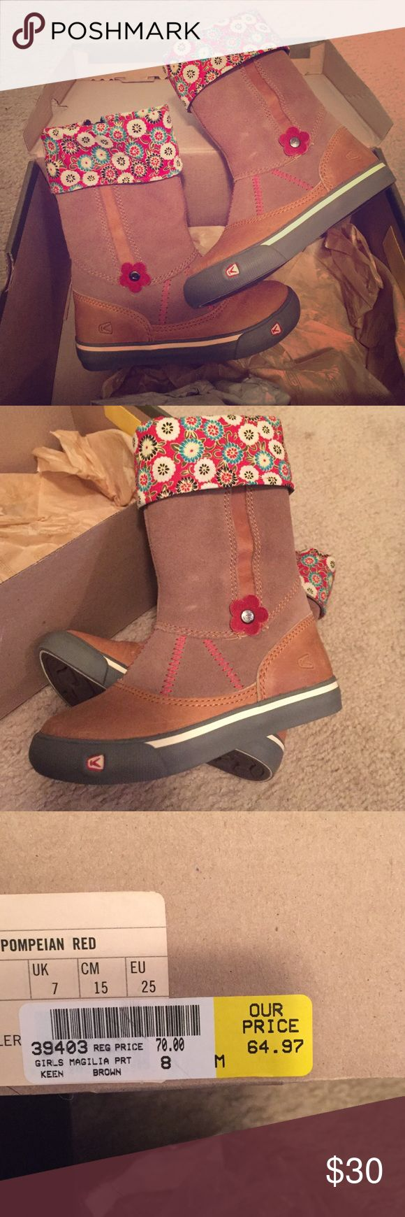 KEEN Girl Hiking Boots KEEN Girl Hiking Boots. Absolutely adorable and fashionable Keen Shoes Boots