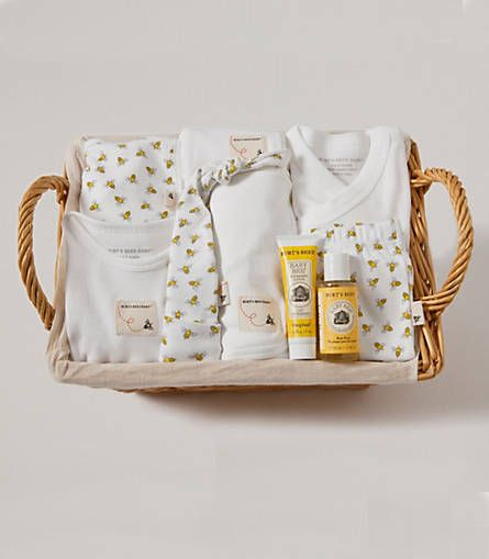 Bee Essentials Take Me Home Honeybee Basket - Burts Bees Baby
