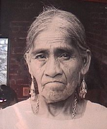 María Sabina (ca. 1894?[1] – November 23, 1985) was a Mazatec curandera who lived her entire life in a modest dwelling in the Sierra Mazateca of southern Mexico.