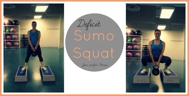 Deficit Sumo Squat