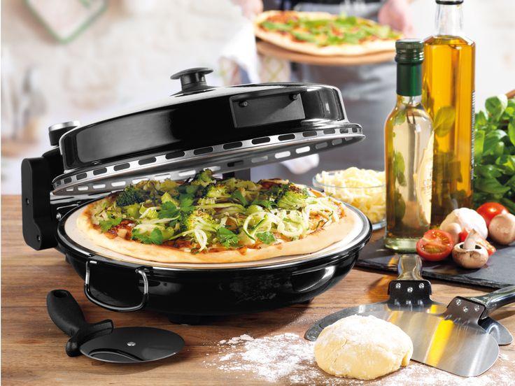 Giles & Posner Black Bella Pizza Maker | Kitchen Appliances | Giles & Posner