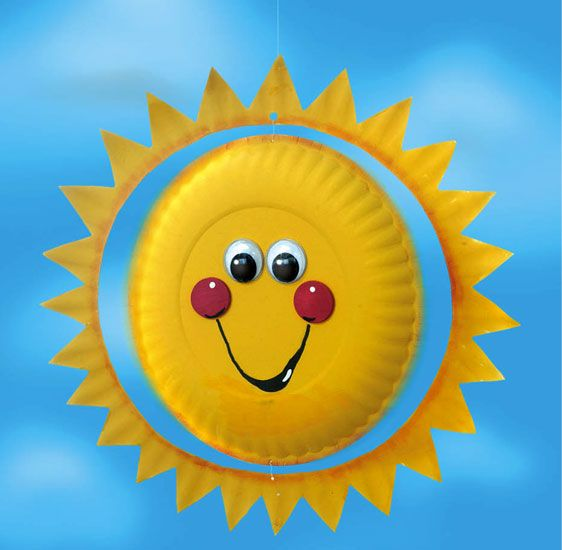 Crafts n' things Weekly - smiling sunshine.  I am forever a preschool teach.  These ideas always stand out to me. :)