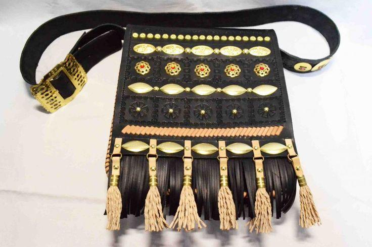 pastierská kožená kapsa 452
