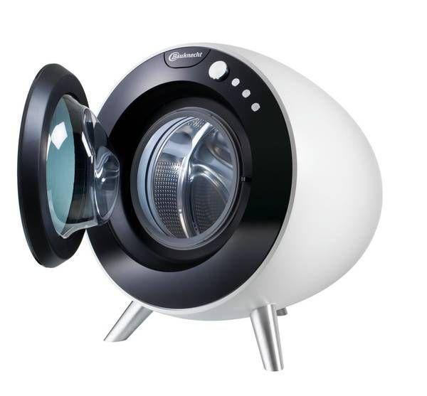 Bauknecht, Design Arman Emami, 2012, Die Waschmaschine der Zukunft ist rund