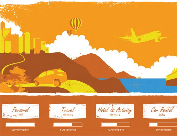Vacation planner - Office Templates