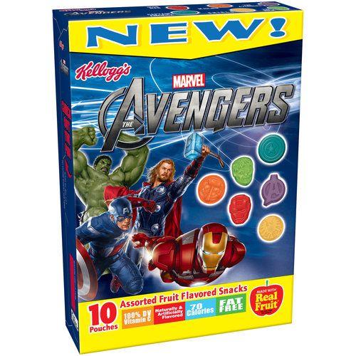 Avengers Assorted Fruit Flavored Snacks Avengers