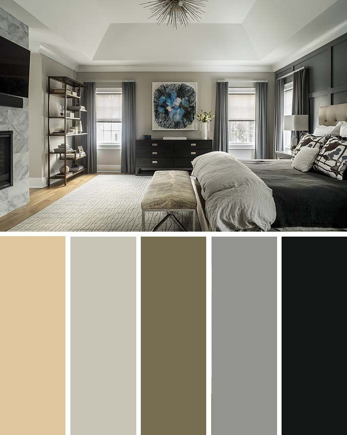 20 Beautiful Bedroom Color Schemes Color Chart Included
