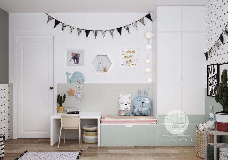 Idée peinture chambre fille, voici une jolie chambre pour vous