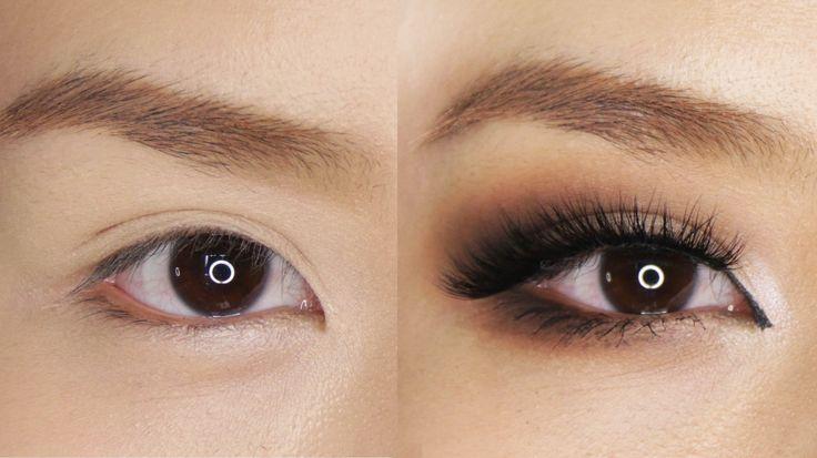 Smokey Eye Makeup for Hooded or Asian Eyes