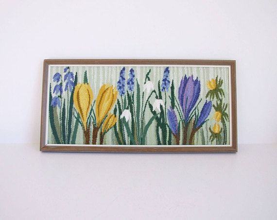 Sueco vintage twist  flores  // Escandinavo textil