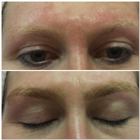 Eyebrow Tint before and after | Eyebrow Threading and ...